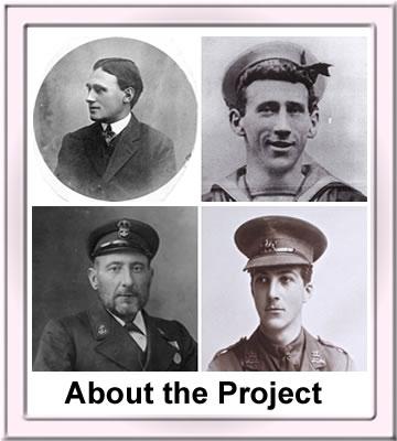 Four images of Dawlish WW1 servicemen